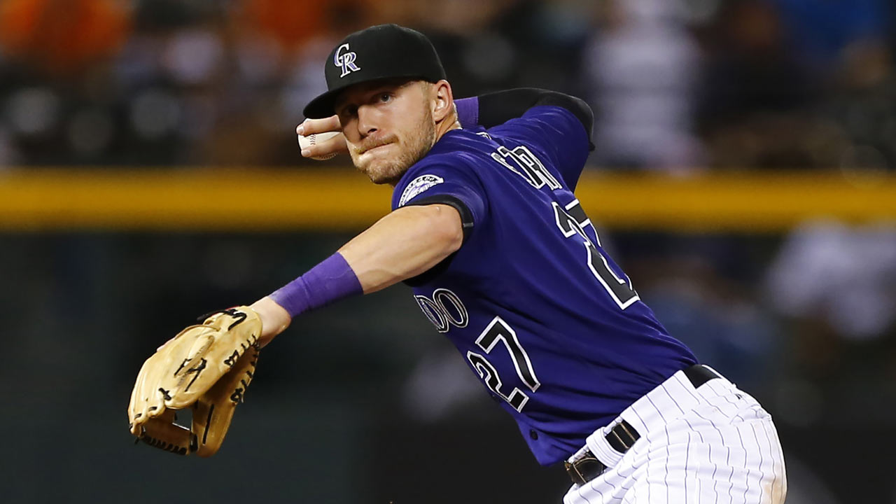 Rockies break routine, take infield practice