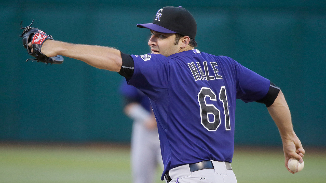 Rockies' Hale frustrated by end result vs. A's